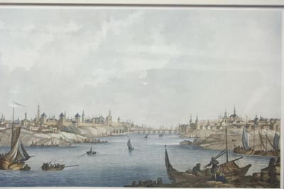 Michel-François Damame-Demartrais. Vue de Novogorod. Paris. 1811 - 1813.